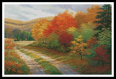 A Bend In The Road - Artecy Cross Stitch