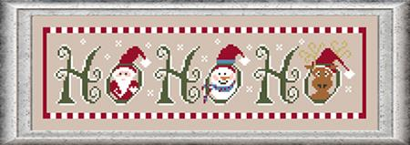 Ho Ho Ho - Stitch N Needs