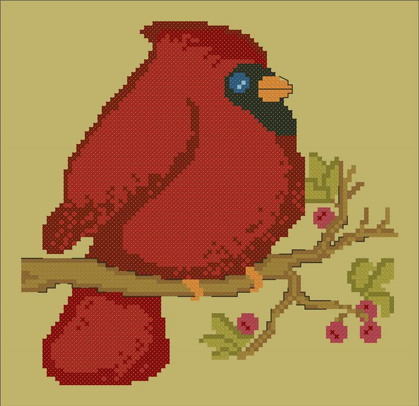 Mr. Redbird - CM Designs
