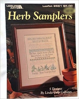 Herb Samplers - Leisure Arts