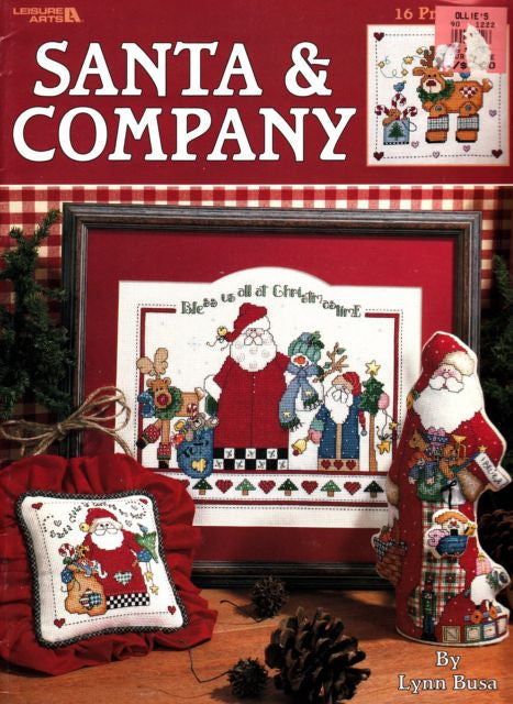 Santa & Company - Leisure Arts