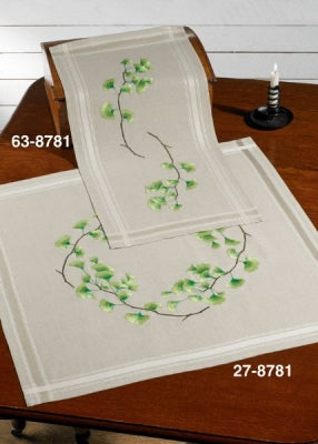 Ginko Table Runner - Permin