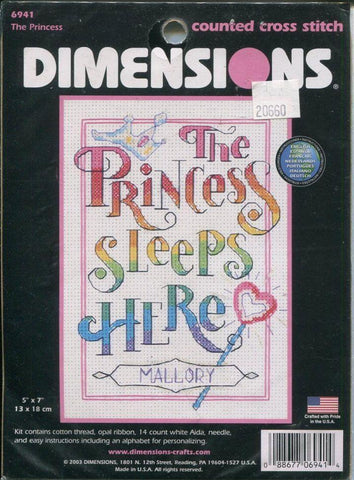 The Princess - Dimensions