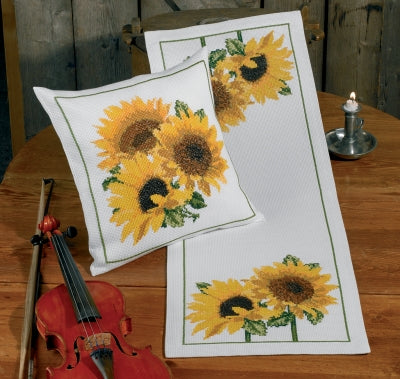 Sunflowers Table Runner - Permin