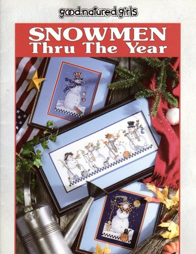 Snowmen Thru the Year - Good Natured Girls