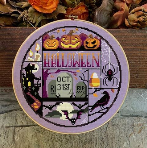 Halloween Night - Autumn Lane Stitchery