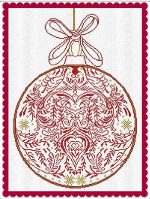 2016 Christmas Ornament - Alessandra Adelaide Needleworks