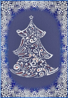 2016 Special Christmas Tree - Alessandra Adelaide Needleworks