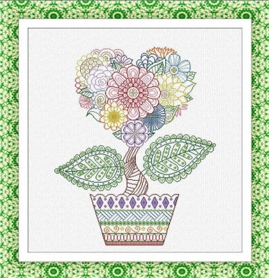 Flower of Love - Alessandra Adelaide Needleworks