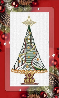 2017 Special Christmas Tree - Alessandra Adelaide Needleworks