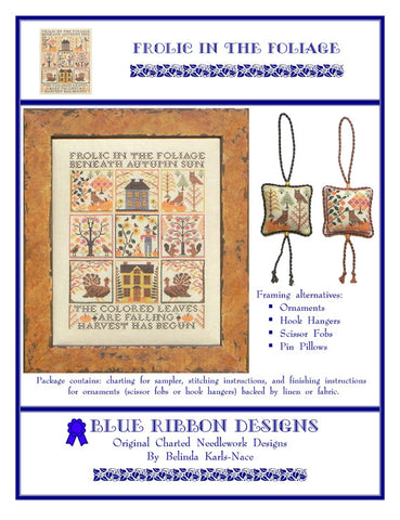 Frolic in the Foliage - Blue Ribbon Designs