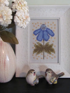 Funky Flowers-Annabelle - By The Bay Needleart