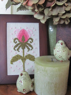 Funky Flowers-Beatrice - By The Bay Needleart