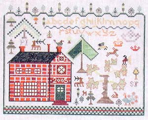 Woodland Paradise Sampler - Praiseworthy Stitches