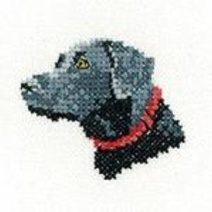 Black Labrador, Little Friends Collection - Heritage Crafts
