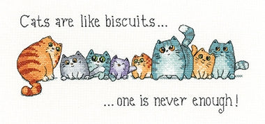 Cats and Biscuits, Peter Underhill Collection - Heritage Crafts
