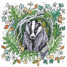 Badger, Woodland Creatures by Karen Carter - Heritage Crafts