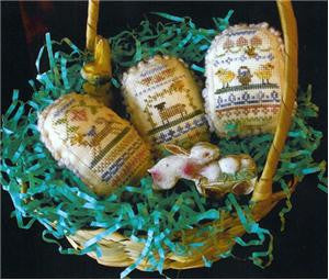 Spring Eggs IV - Homespun Elegance