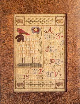 Sheep Button Sampler - Homespun Elegance