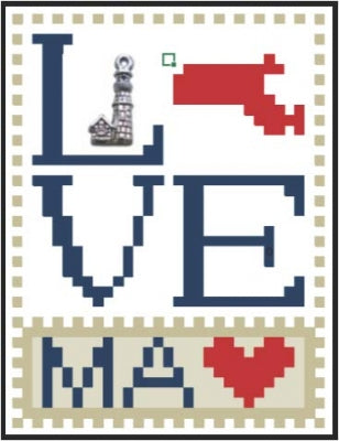 Love Massachusetts - Love Bits States - Hinzeit