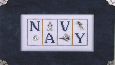 Navy - Mini Blocks - Hinzeit