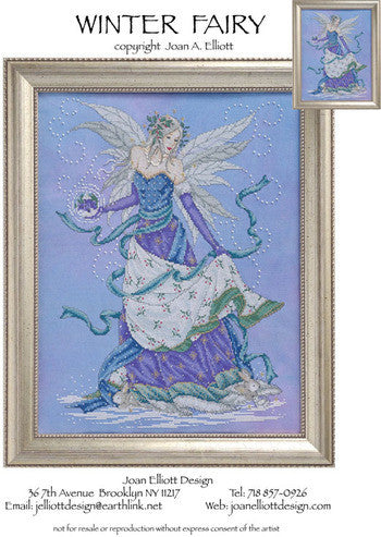 Winter Fairy - Joan Elliott Designs