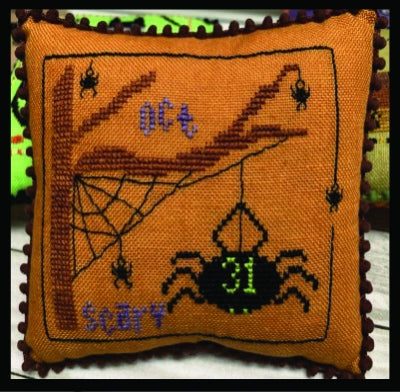 Scary Spiders, Halloween Mini Series - Needle Bling Designs