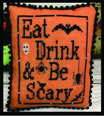 Eat, Drink, Be Scary - Needle Bling Designs