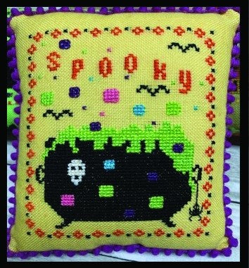 Spooky Cauldron - Halloween Mini Series - Needle Bling Designs
