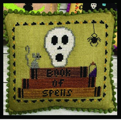 Book of Spells, Halloween Mini Series - Needle Bling Designs