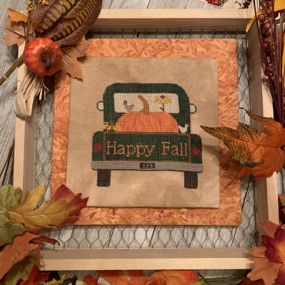 Rearview, Pumpkin - Needle Bling Designs
