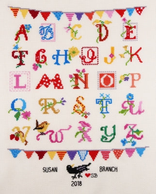 Alphabet, Susan Branch - The Posy Collection