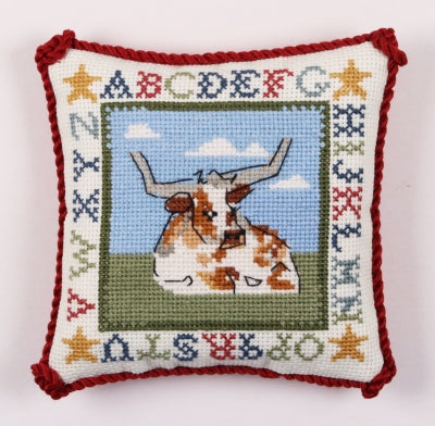 Longhorn Pin Pillow - The Posy Collection