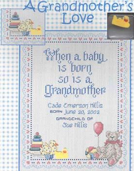 A Grandmother's Love - Sue Hillis Designs