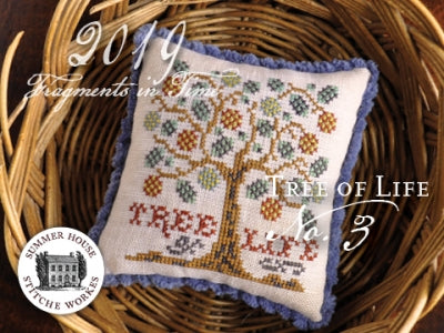 Fragments In Time 2019 #3, The Tree of Life - Summer House Stitche Workes