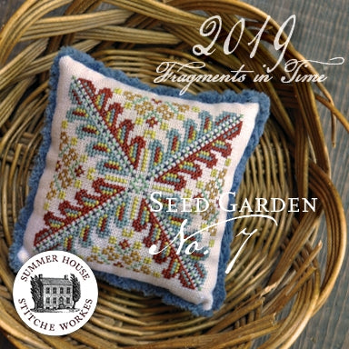 Fragments In Time 2019 #7, The Seed Garden - Summer House Stitche Workes