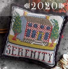 Copy of Fragments In Time 2020: No. 2 Serenity - Summer House Stitche Workes