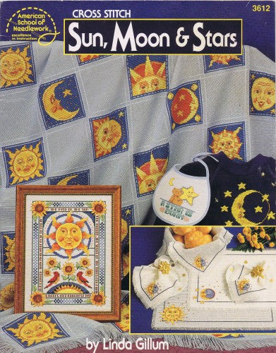Sun, Moon & Stars - American School of Needlework