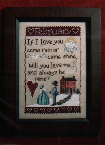 Monthly Sampler Series: February - Waxing Moon Designs
