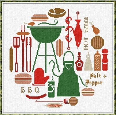 BBQ World - Alessandra Adelaide Needleworks
