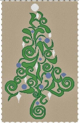 2015 Special Christmas Tree - Alessandra Adelaide Needleworks