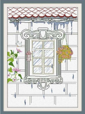 Spring Window - Alessandra Adelaide Needleworks