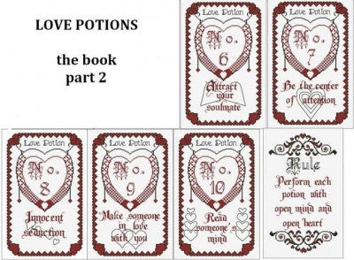 The Book of Love Potions-Part 2 - Alessandra Adelaide Needleworks