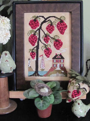 Strawberry Hill - By The Bay Needleart