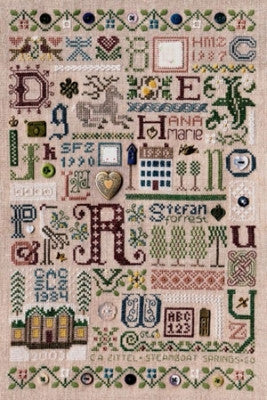 Souvenir Sampler - Drawn Thread
