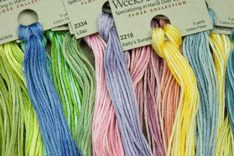 6 Strand Floss S-Z - Weeks Dye Works