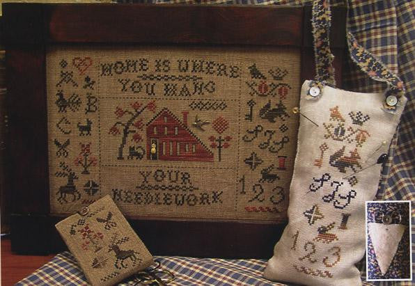 Home is Where You Hang Your Needlework - Homespun Elegance