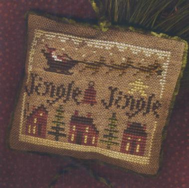Jingle Jingle Sampler, 2011 Ornament  - Homespun Elegance