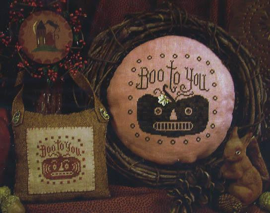 Boo To You - Homespun Elegance