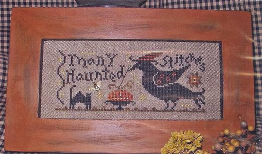 Many Haunted Stitches - Homespun Elegance